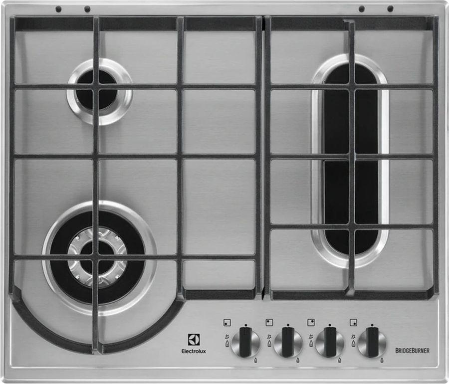 Варочная панель ELECTROLUX GPE963FX,  независимая,  нержавеющая сталь