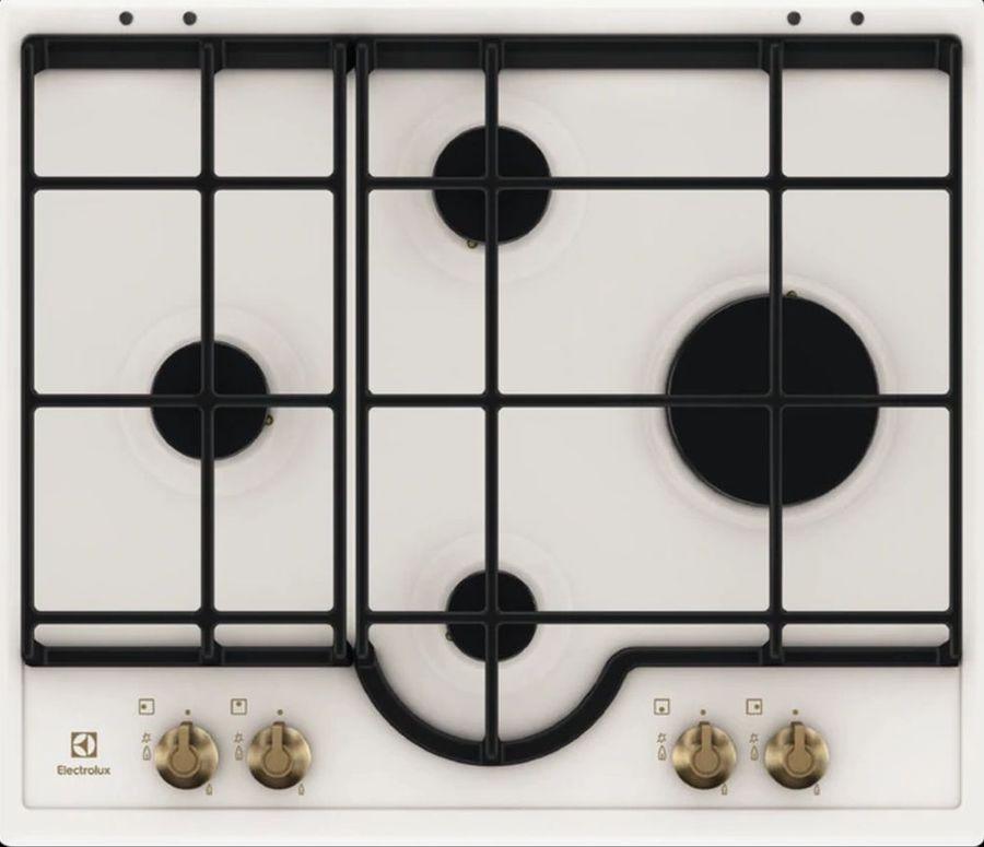 Варочная панель ELECTROLUX GPE362RBW,  независимая,  кремовый