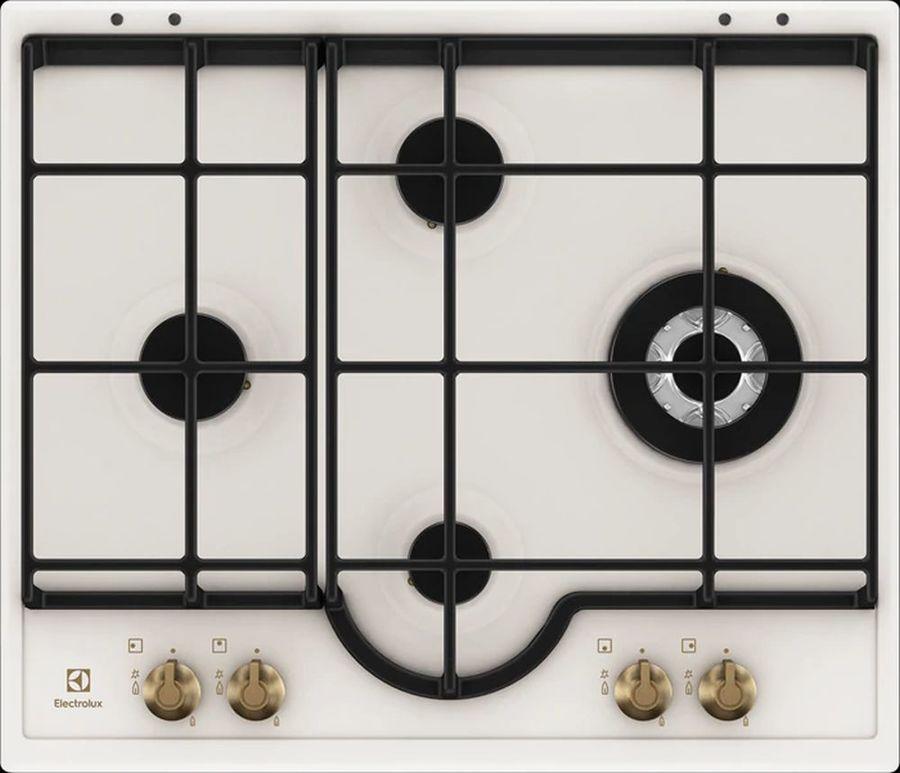 Варочная панель ELECTROLUX GPE363RBW,  независимая,  кремовый