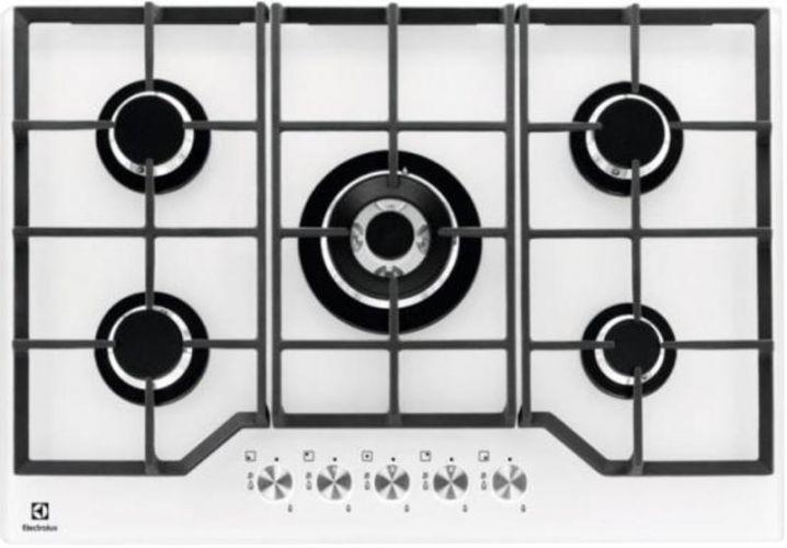 Варочная панель ELECTROLUX GPE373YV,  независимая,  белый