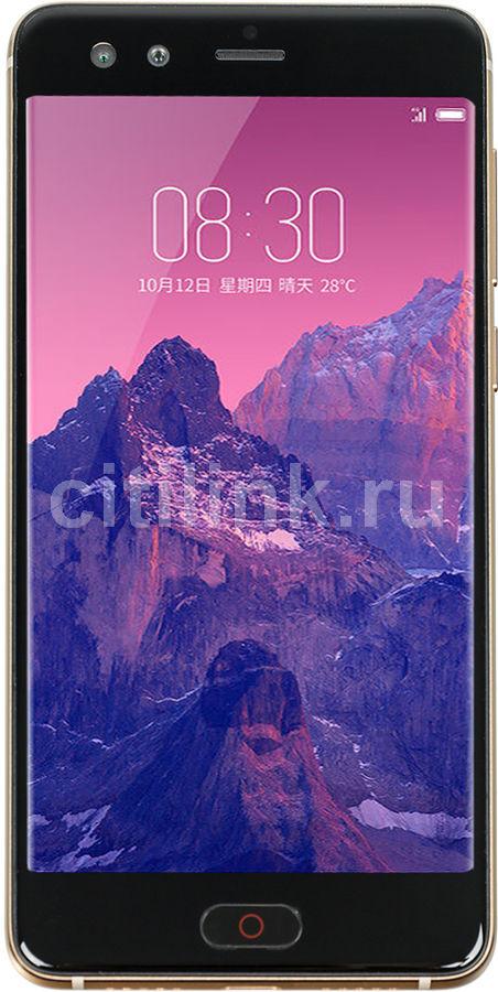 Смартфон NUBIA Z17 MiniS 64Gb,  черный/золотистый