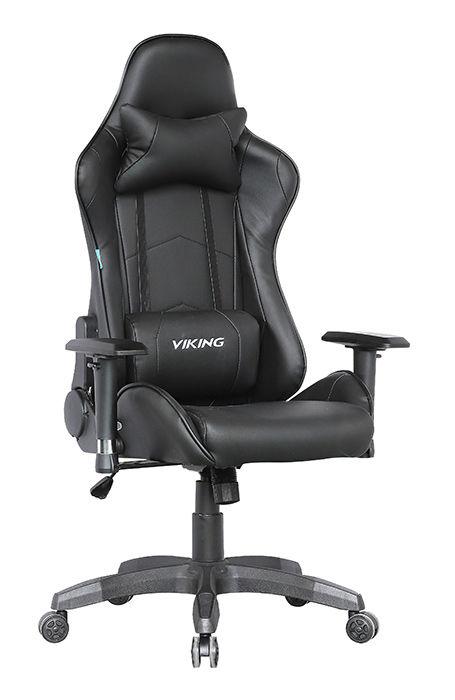 Кресло игровое БЮРОКРАТ CH-778, на колесиках, искусственная кожа, черный [ch-778/black]