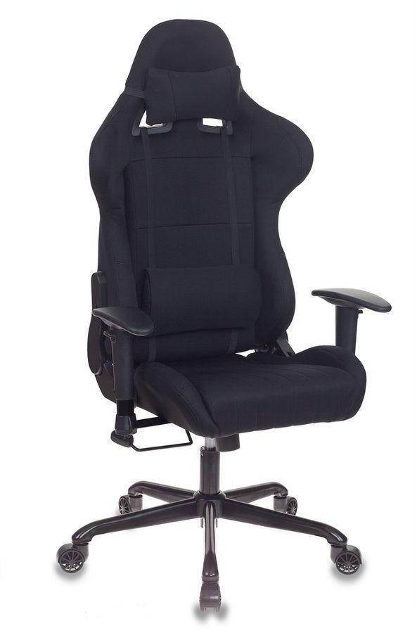 Кресло игровое БЮРОКРАТ CH-785, на колесиках, ткань [ch-785/black]