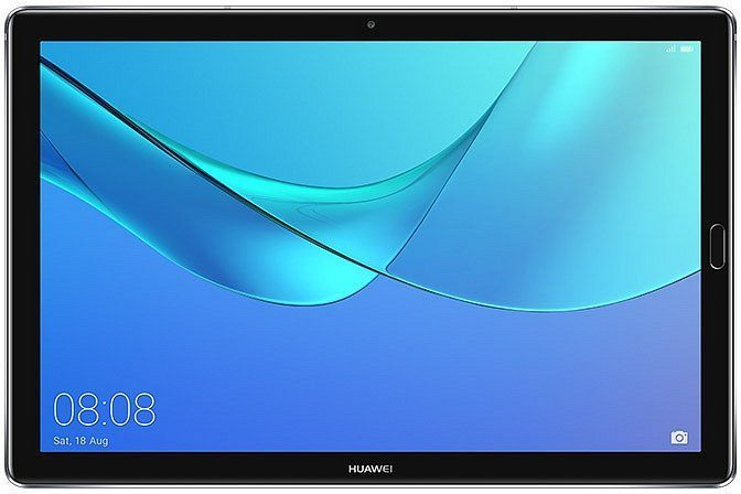 Планшет HUAWEI MediaPad M5 10.8,  4GB, 64GB, 3G,  4G,  Android 8.0 серый [53010bll]