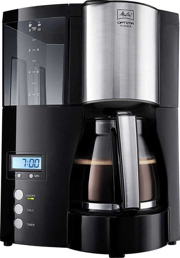Кофеварка MELITTA Optima Timer,  капельная,  черный  [6613648]