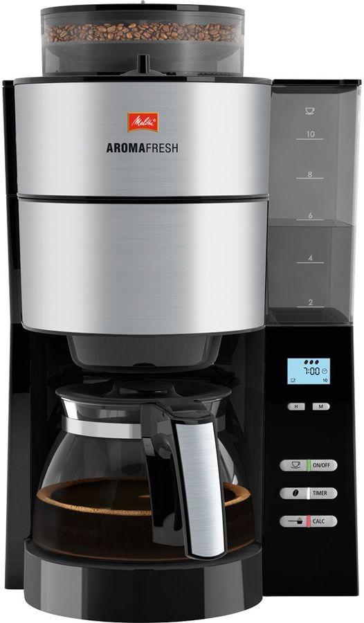 Кофеварка MELITTA Aroma Fresh with Grinder,  капельная,  черный  [6760642]