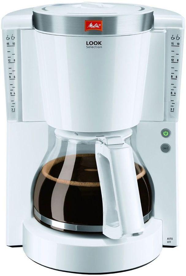 Кофеварка MELITTA Look IV Selection,  капельная,  белый  [6708085]