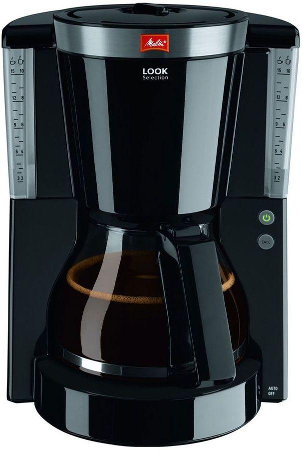 Кофеварка MELITTA Look IV Selection,  капельная,  черный  [6708092]