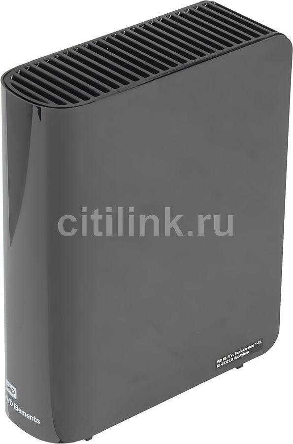 Внешний жесткий диск WD Elements Desktop WDBWLG0060HBK-EESN, 6Тб, черный