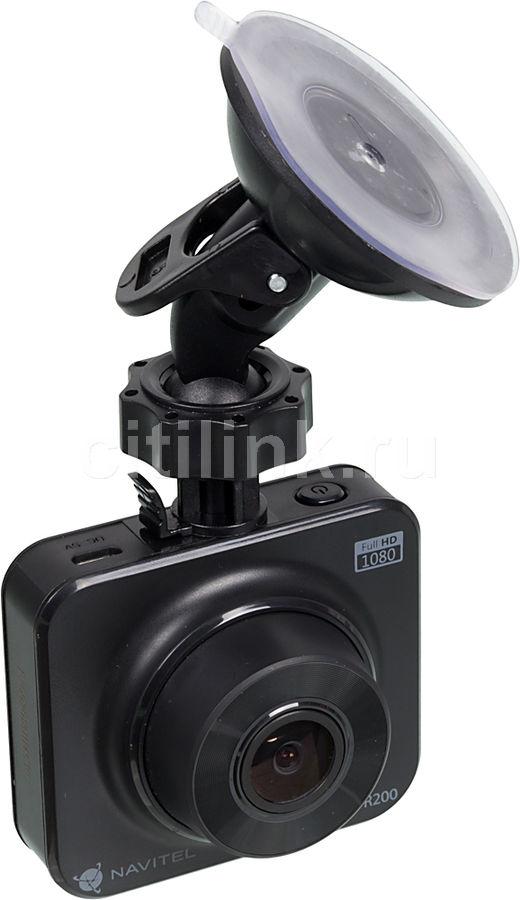 Видеорегистратор NAVITEL R200,  черный