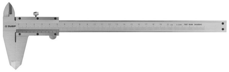 Штангенциркуль ЗУБР ШЦ-I-200-0,05 [34511-200]