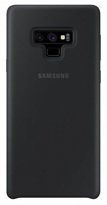Чехол (клип-кейс) SAMSUNG Silicone Cover, для Samsung Galaxy Note 9, черный [ef-pn960tbegru]