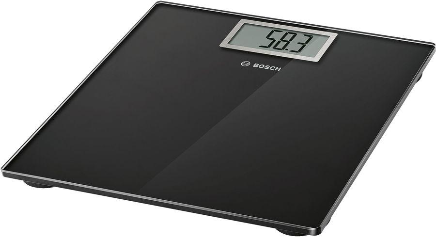 Напольные весы BOSCH PPW3401, до 200кг, цвет: черный