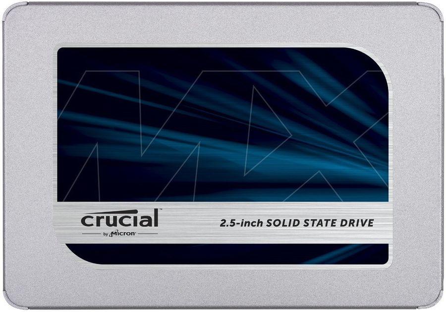 "SSD накопитель CRUCIAL MX500 CT500MX500SSD1N 500Гб, 2.5"", SATA III"