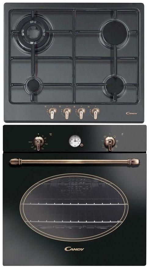 Встраиваемый комплект Candy R100/6GH + CPGC 64 SQPGH черный/черный
