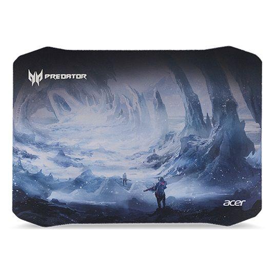Коврик для мыши ACER Predator Ice Tunnel,  черный/синий [np.msp11.006]