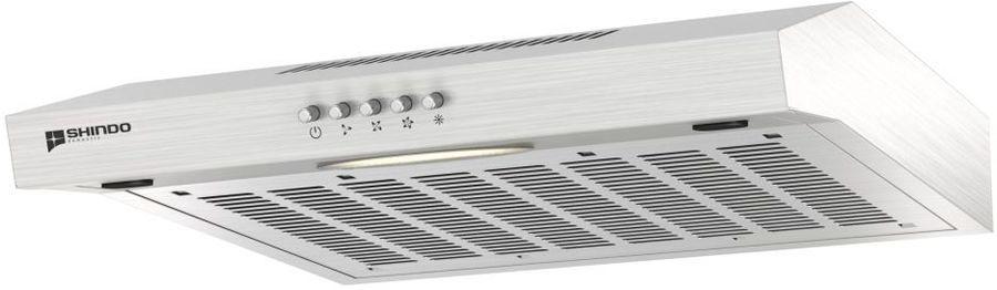 Вытяжка козырьковая Shindo Itea 50 SS серебристый управление: кнопочное (1 мотор)