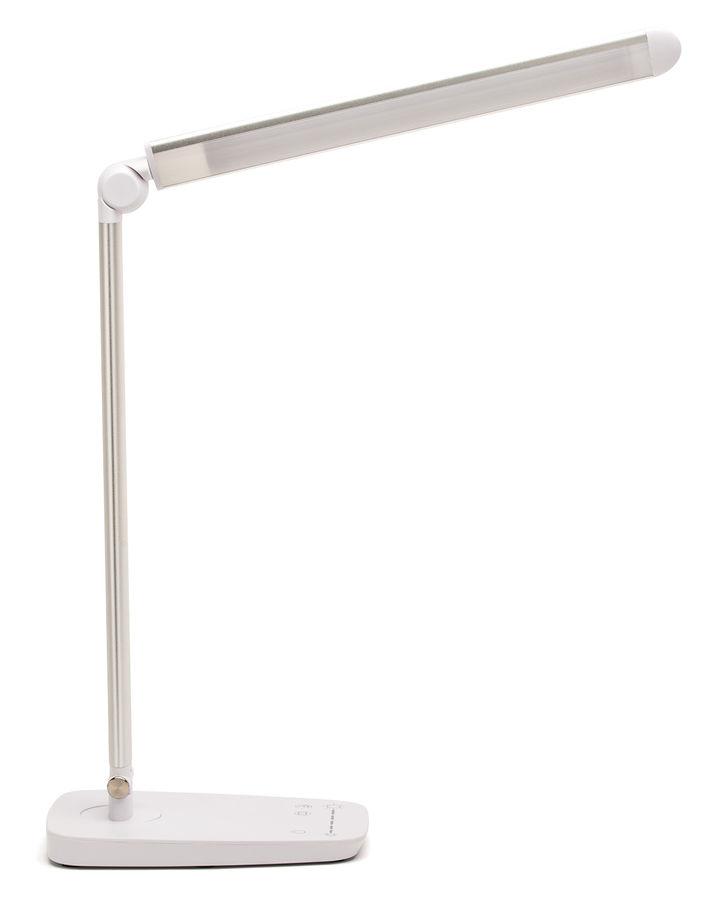 Светильник настольный LUCIA Galant на подставке,  10Вт,  серебристый [l520-s]