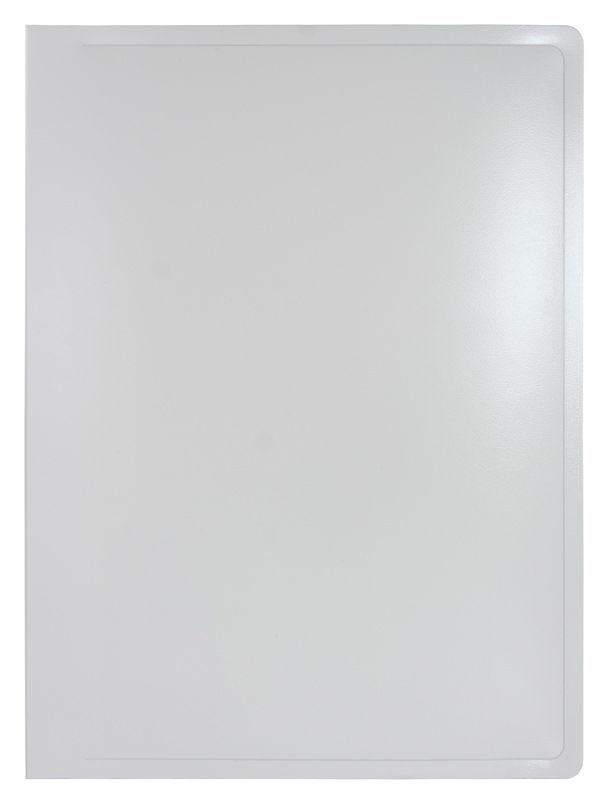 Папка с 20 прозр.вклад. Бюрократ Black&White BWBPV20 A4 пластик 0.8мм ассорти