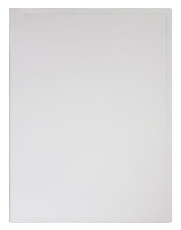 Папка с метал.зажим Бюрократ Black&White BWPZ08C A4 пластик 0.8мм ассорти