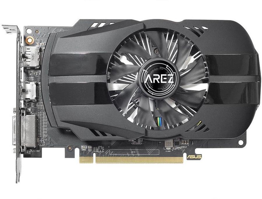 Видеокарта ASUS AMD  Radeon RX 550 ,  AREZ-PH-RX550-2G,  2Гб, GDDR5, Ret