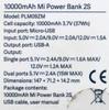 Внешний аккумулятор (Power Bank) XIAOMI Mi Power Bank 2S,  10000мAч,  черный [vxn4230gl] вид 8