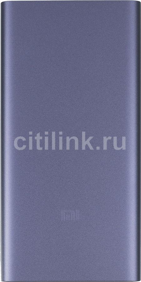Внешний аккумулятор (Power Bank) XIAOMI Mi Power Bank 2S,  10000мAч,  черный [vxn4230gl]