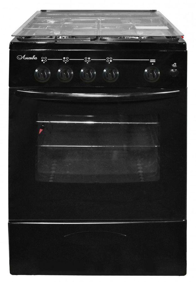 Газовая плита ЛЫСЬВА ГП 400 МС-2у,  газовая духовка,  черный