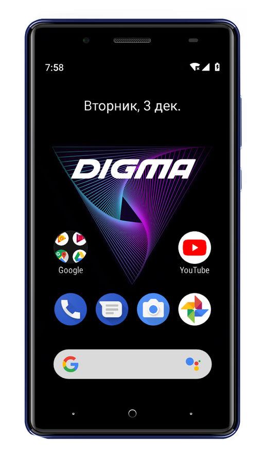 Смартфон DIGMA HIT Q500 3G,  синий