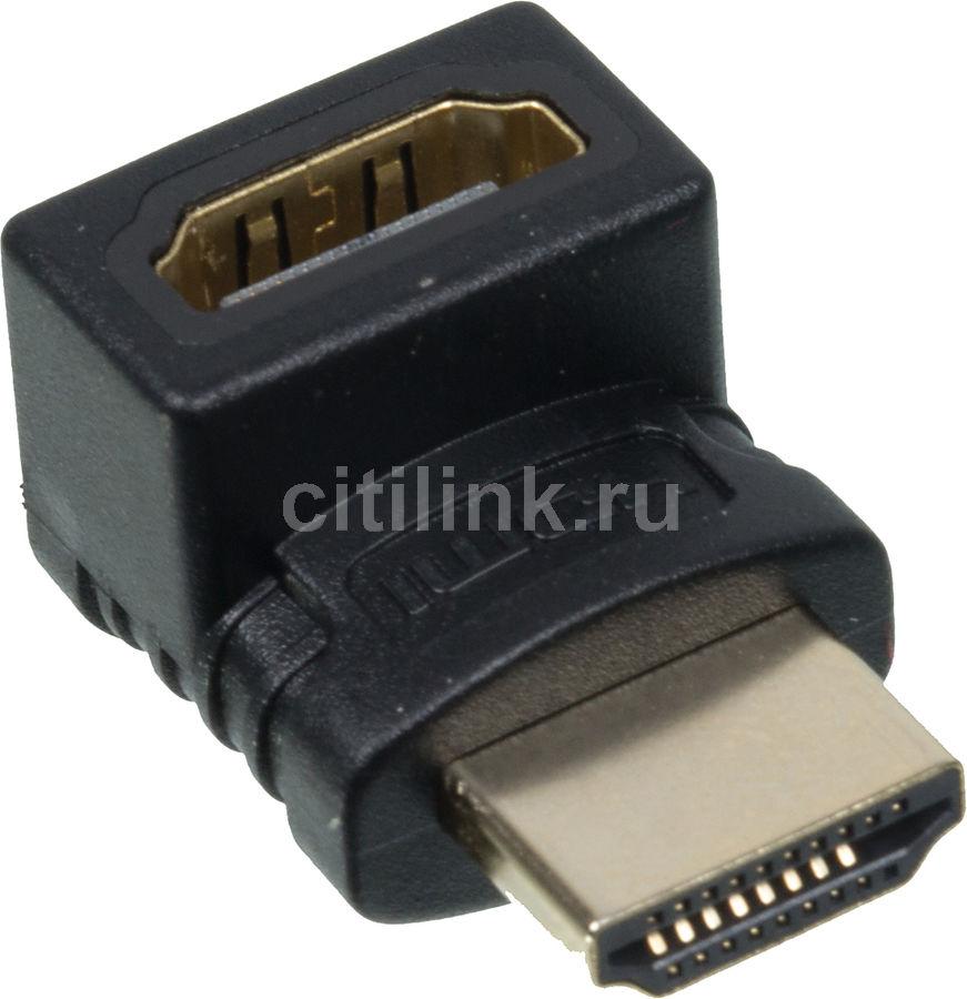 Адаптер аудио-видео AVINITY 00127089,  HDMI (m)  -  HDMI (f) ,  ver 1.4, черный