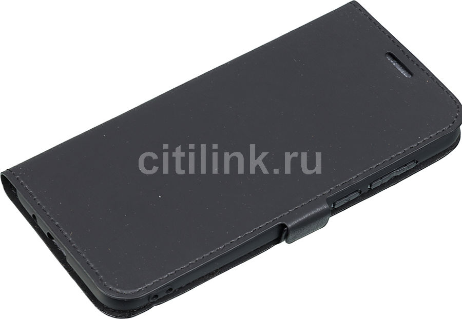 Чехол (флип-кейс) DF hwFlip-39, для Huawei Honor 7A/Y5 Lite/Y5 Prime (2018), черный