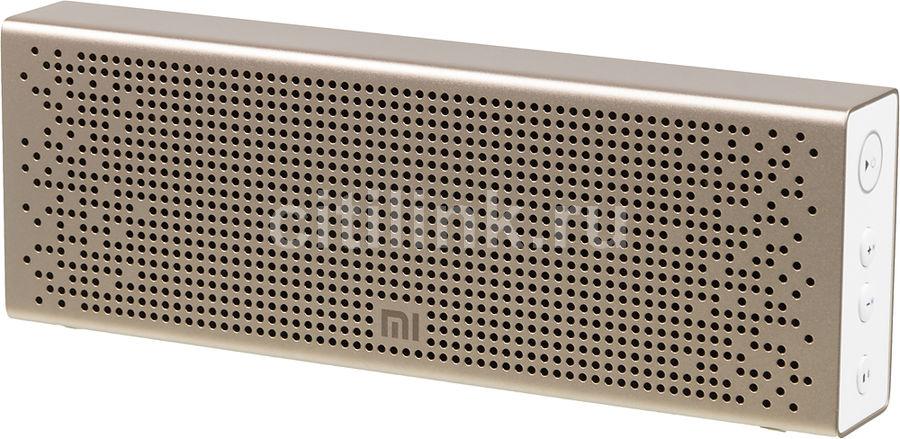 Портативная колонка XIAOMI Mi Bluetooth Speaker,  6Вт, золотистый  [qbh4104gl]