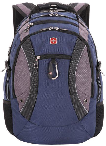 Рюкзак Wenger 900D черный/синий 1015315 38x5x47см 39л. 1.52кг.