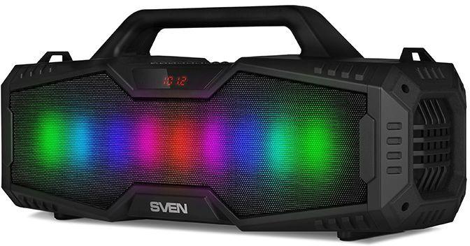 Портативная колонка SVEN PS-480,  24Вт, черный