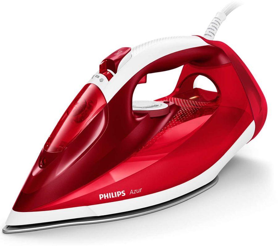 Утюг PHILIPS GC4542/40,  2500Вт,  красный/ белый