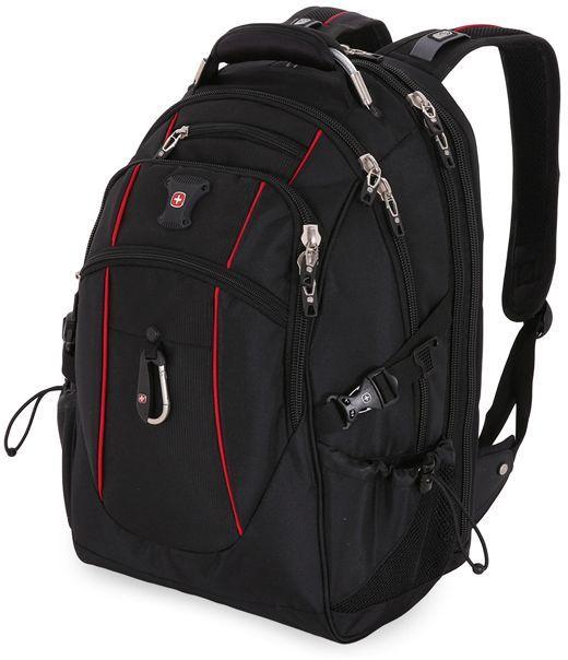 Рюкзак Wenger 900D/М2 добби черный/красный 6677202408 37x5x48см 38л. 1.42кг.