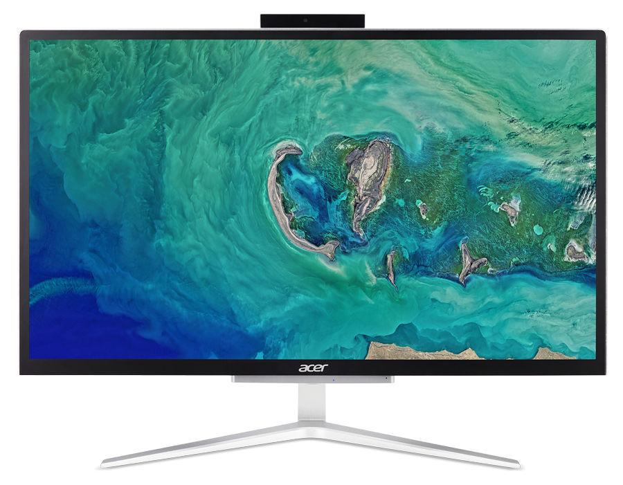 "Моноблок ACER Aspire C22-820, 21.5"", Intel Celeron J4005, 4Гб, 128Гб SSD,  Intel UHD Graphics 600, Endless, серебристый и черный [dq.bcker.005]"
