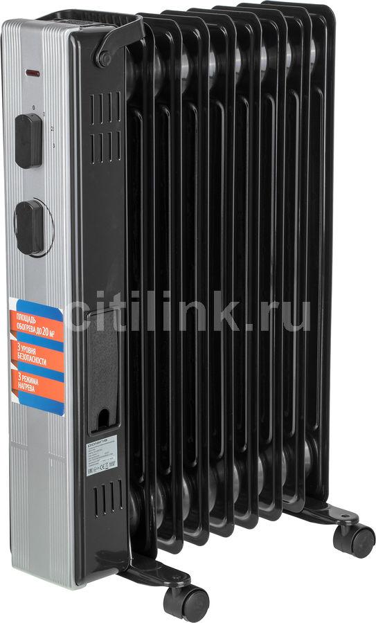Масляный радиатор POLARIS PRE A 0920, 2000Вт, черный