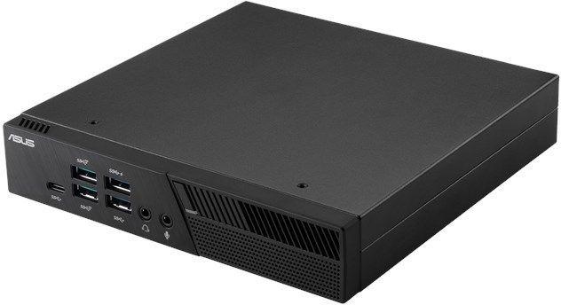Неттоп  ASUS PB60-B3123MC,  Intel  Core i3  8100T,  DDR4 4Гб, 128Гб(SSD),  Intel UHD Graphics 630,  noOS,  черный [90ms01e1-m01230]