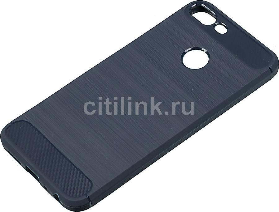 Чехол (клип-кейс) TFN Brush, для Huawei Honor 9 Lite, синий [tfn-cc-13-025brcbl]