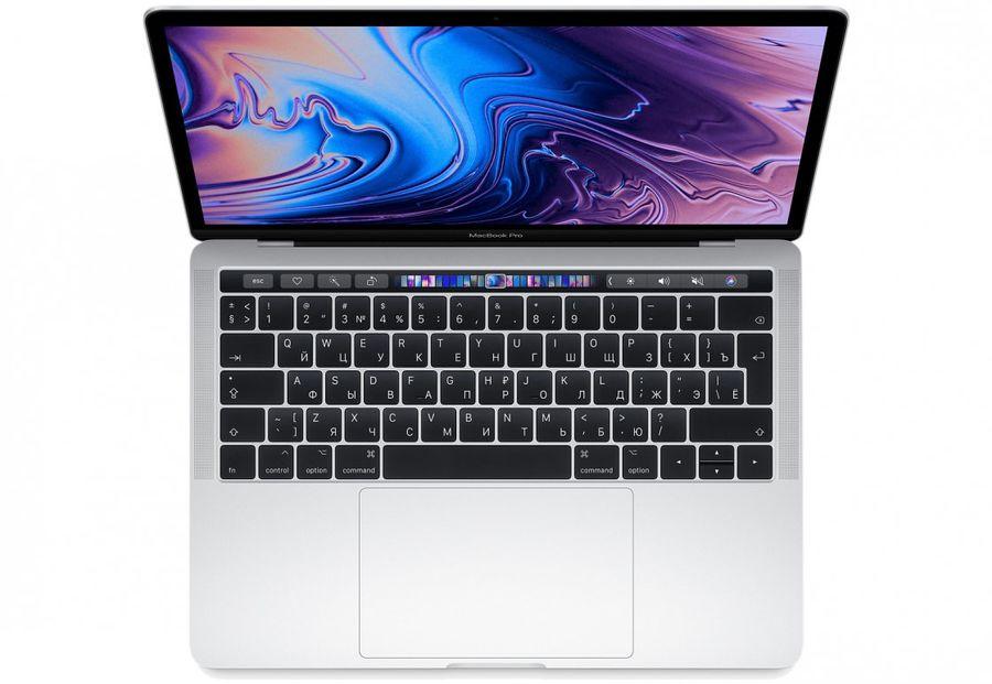 "Ноутбук APPLE MacBook Pro MR9U2RU/A, 13.3"",  IPS, Intel  Core i5  8259U 2.3ГГц, 8Гб, 256Гб SSD,  Intel Iris graphics  655, Mac OS Sierra, MR9U2RU/A,  серебристый"