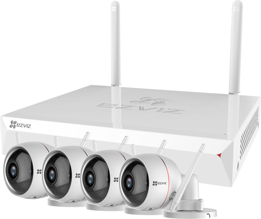 Комплект видеонаблюдения EZVIZ CS-BW2824-B1E10