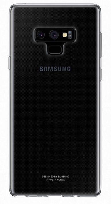 Чехол (клип-кейс) SAMSUNG Clear Cover, для Samsung Galaxy Note 9, прозрачный [ef-qn960ttegru]