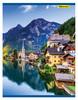 Тетрадь Silwerhof 810024-74 80л. клет. A4 Горные пейзажи 2диз. мел.карт. сплош.уф.лак скрепка вид 1