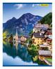 Тетрадь Silwerhof 810024-74 80л. клет. A4 Горные пейзажи 2диз. мел.карт. сплош.уф.лак скрепка вид 3