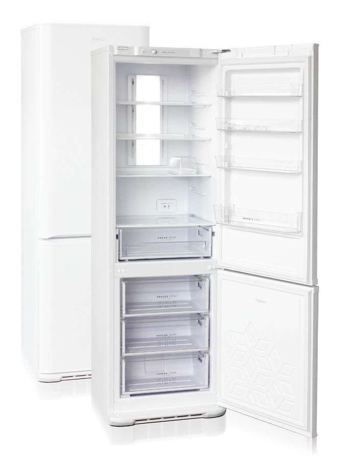 Холодильник БИРЮСА Б-360NF,  двухкамерный, белый