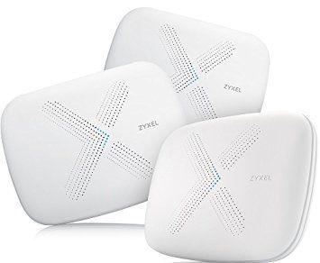 Бесшовный Mesh роутер ZYXEL Multy X,  белый,  3 шт. в комплекте [wsq50-eu0301f]