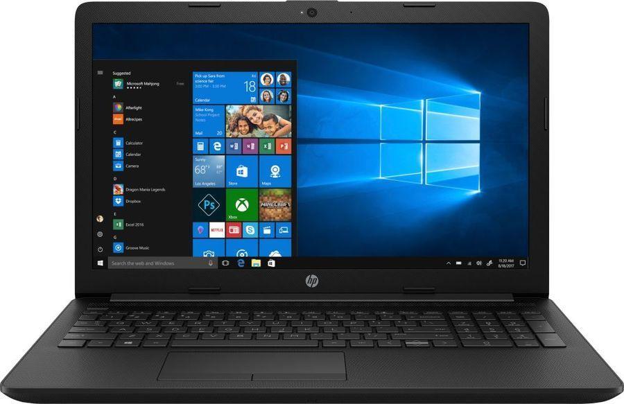 """Ноутбук HP 15-da0011ur, 15.6"""",  Intel  Core i3  7020U 2.3ГГц, 8Гб, 1000Гб,  Intel UHD Graphics  620, Windows 10, 4EM76EA,  черный"""