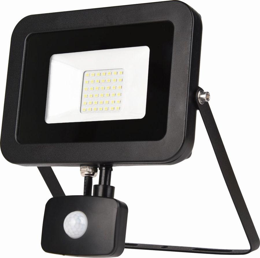 Прожектор уличный ЭРА LPR-50-2700К-М-SEN SMD, 50Вт, с датчиком движения [б0029434]