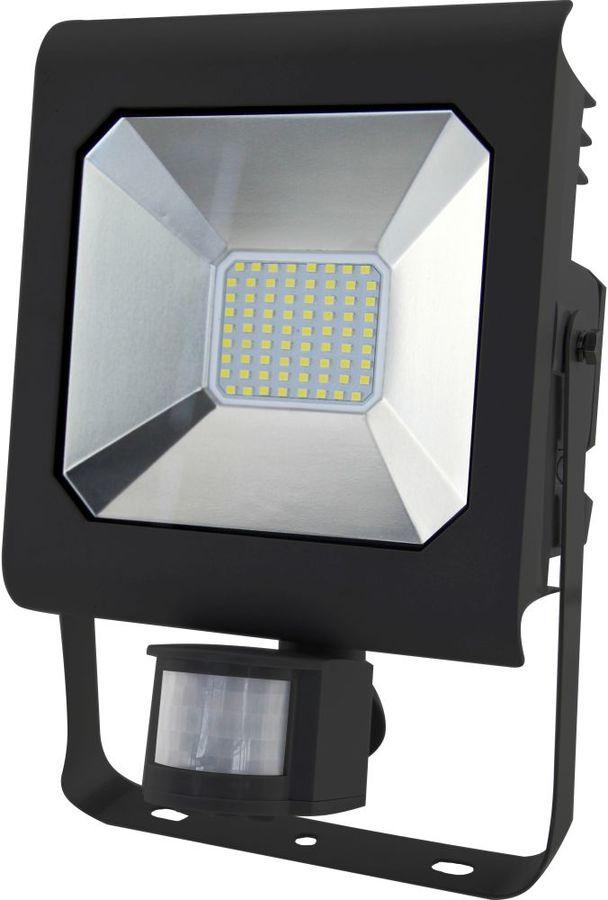 Прожектор уличный ЭРА LPR-50-6500К-М-SEN SMD, 50Вт, с датчиком движения [б0028665]